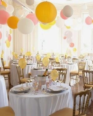 Globos restaurante boda