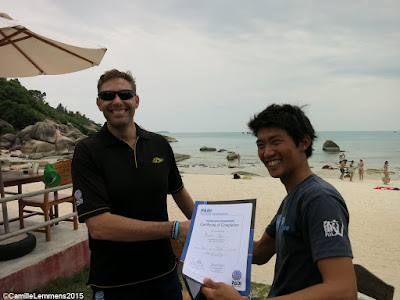 Testimonial by Ryuta of the Koh Samui June 2015 IDC