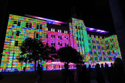 Sydney Vivid Lights Building 2015