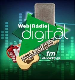 Acesse: Rádio Web Digital FM de Valente-Ba