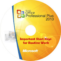 MS Office Shortcut Keys Word Excel Outlook
