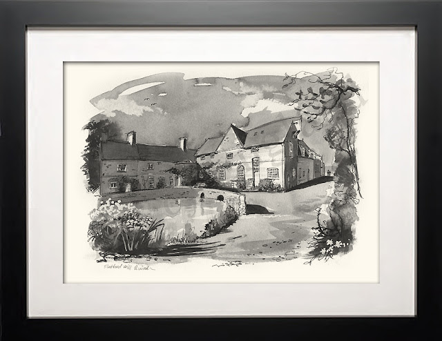 Painting of Flatford Mill
