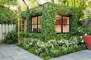 Cover your garden shed