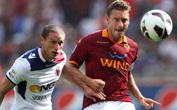 Foto Pertandingan AS Roma Vs Bologna