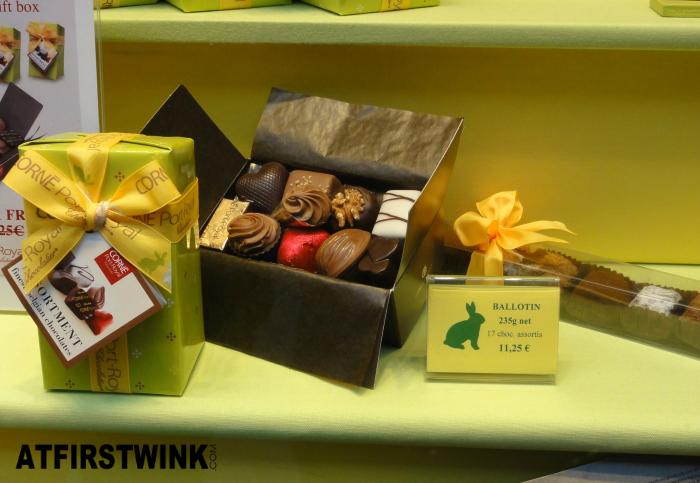 Corné Port Royal ballotin assorted chocolates