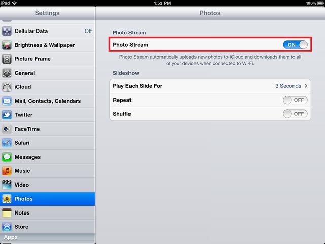 Peringatan iOS 8 Akan Nyalakn Photo Stream Dan Upload Foto Ke Stream