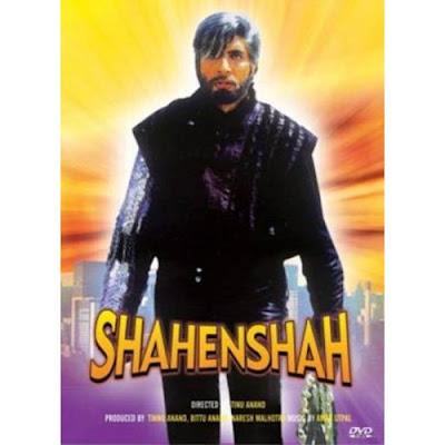 amitabh bachhan shahenshah movie bollywood