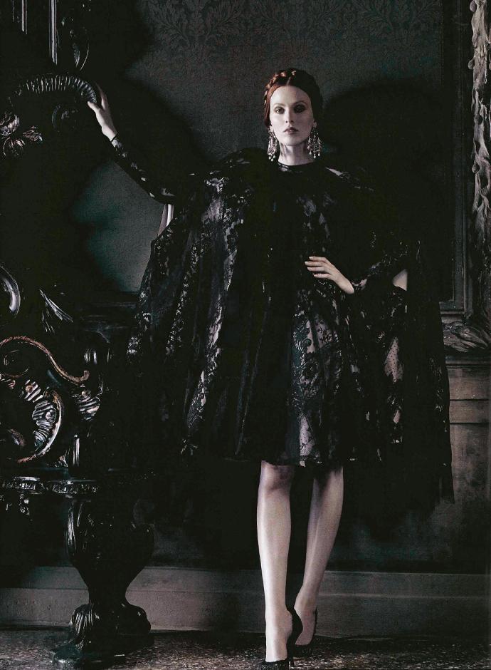 1abb851d53 The Venetian Ball with Dolce   Gabbana Alta Moda Vogue Italia September 2013