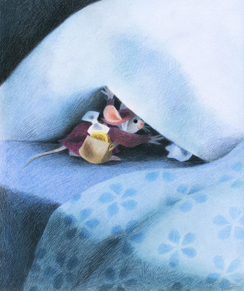 Sous le feuillage la petite souris va passer 5 histoires de dents de lait - L histoire de la souris ...