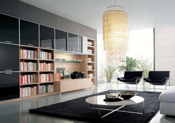 Muebles para living room contempor neos c mo arreglar for Muebles para living