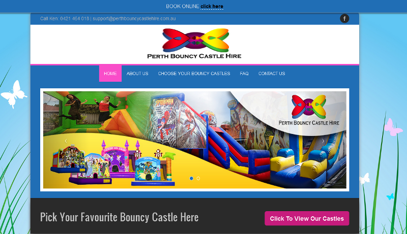 reputable provider of bouncy castle hire services in Perth