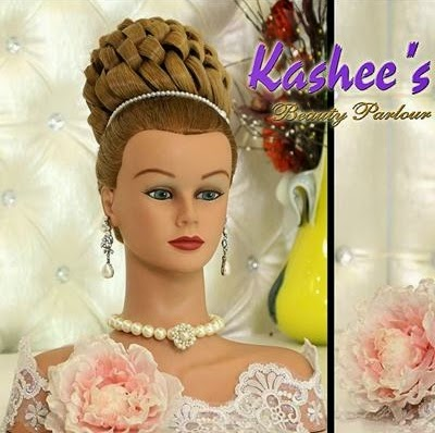 Wedding hairstyle tutorial video by kashee s clothing Hairstyles dark brown