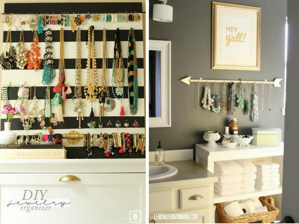 Fash Boulevard 10 Creative Ways To Organize Jewelry