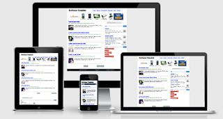Template Blog Responsive Cocok untuk Google Adsense