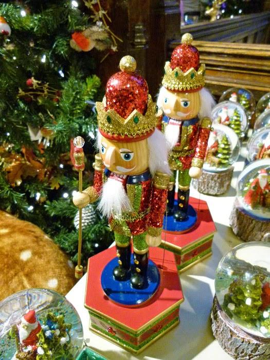 Liberty's of London's Christmas shop