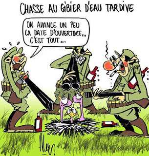 image drole chasseur