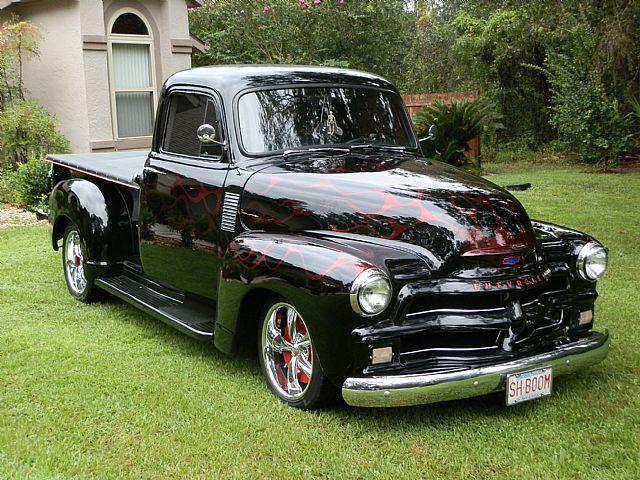 1954 Chevy Truck Custom Cheap