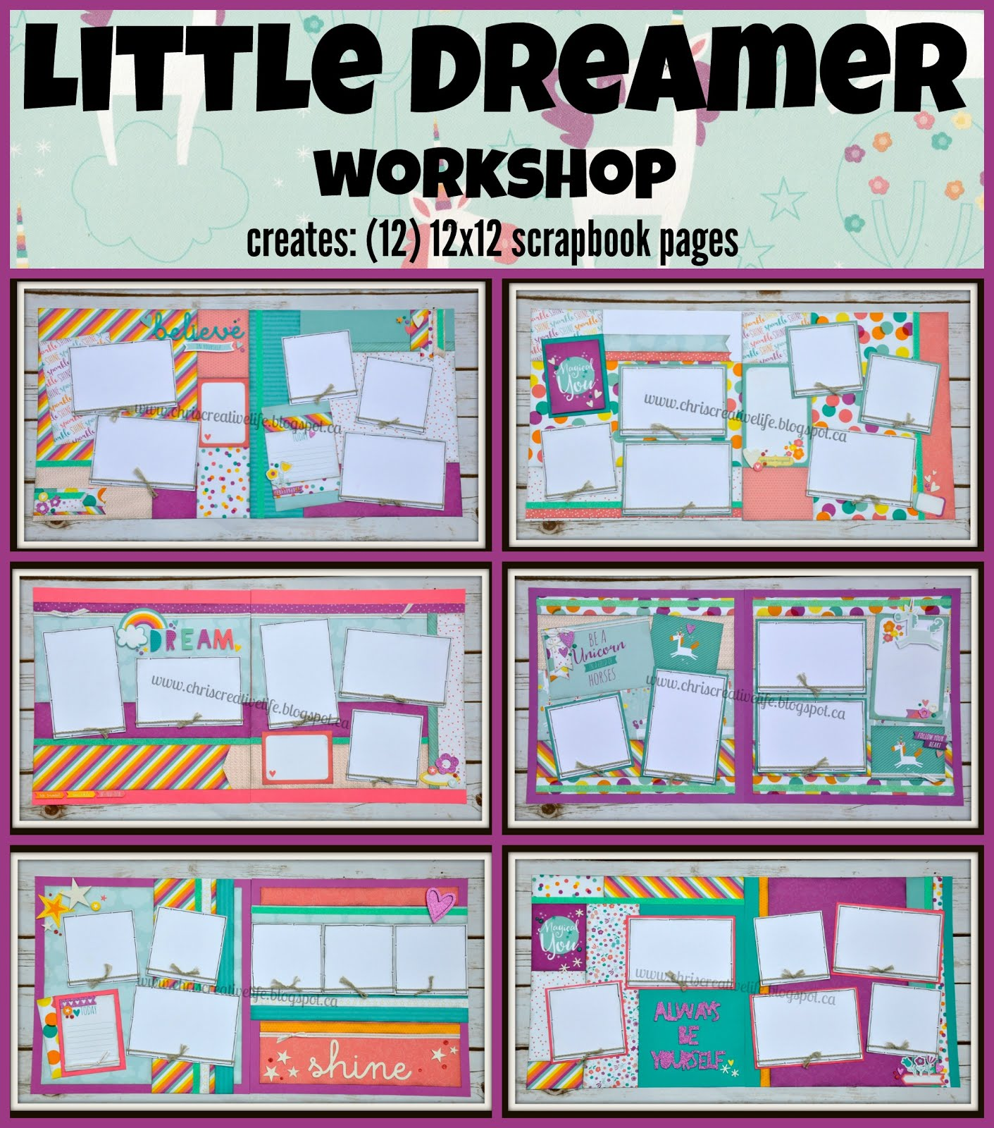 Little Dreamer workshop
