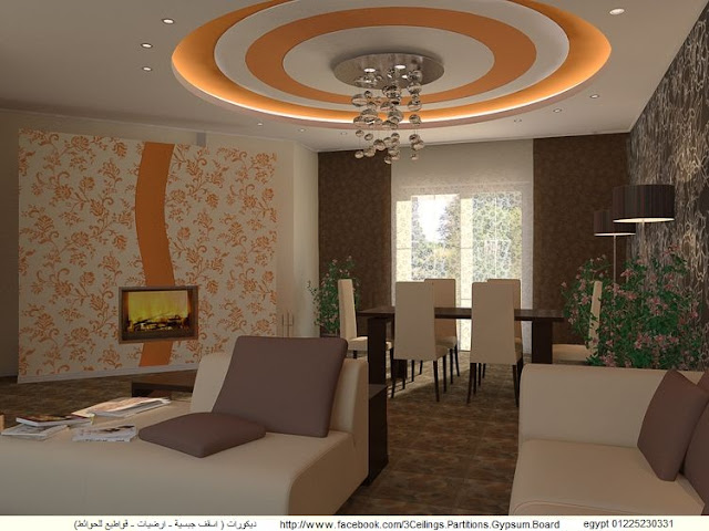 Home interior designs cheap false ceiling designs for living room part 2 for Cheap ceiling ideas living room