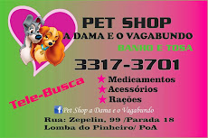 PET SHOP DAMA E VAGABUNDO