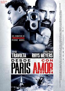 Desde París con amor Poster