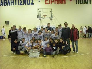 Πρωταθλητής της  Β΄ κορασίδων ο Μανδραϊκός