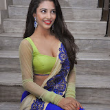 Daksha Nagarkar Hot Photo Gallery in Half Saree at Ak Rao Pk Rao Audio Launch CelebsNext (27)