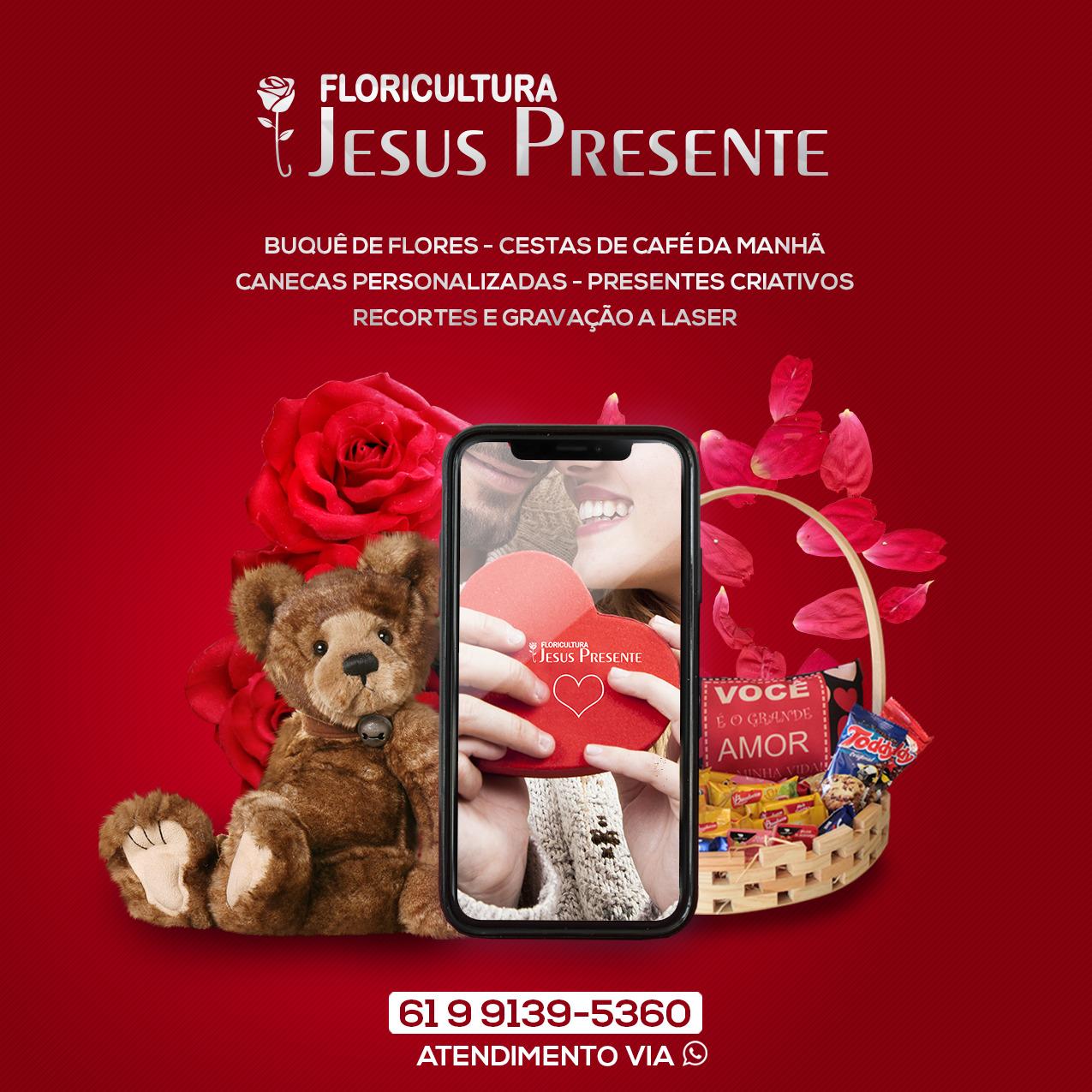 FLORICULTURA JESUS PRESENTE