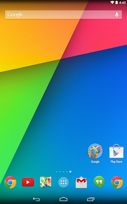 Google Now Launcher look