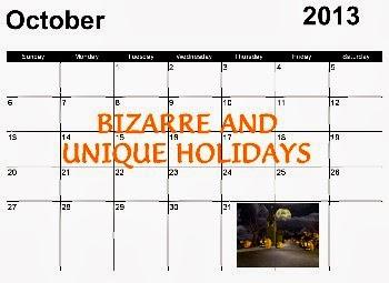 Bizarre Holidays September 2013