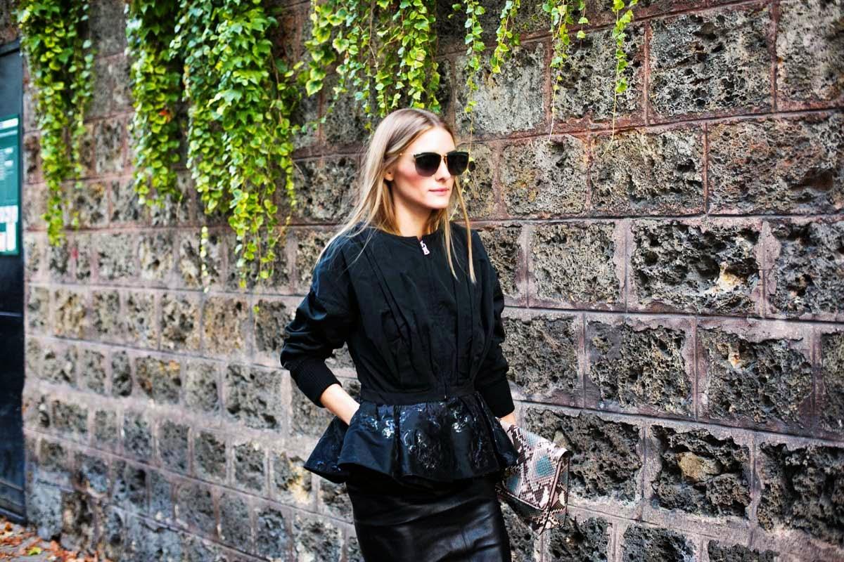 The Olivia Palermo Lookbook Olivia Palermo At Paris Fashion Week Look 3