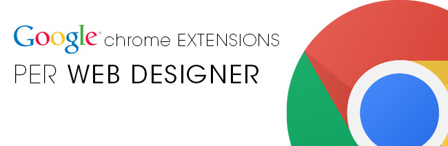 estensioni google chrome per web designer