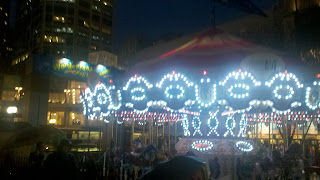 Carousel at Westlake Center in Seattle