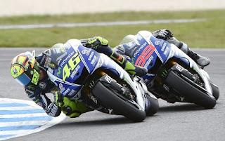 Final Rossi vs Lorenzo & Skenario Juara