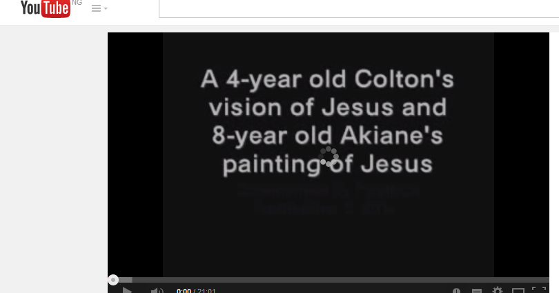 Year Old Paints Picture Of Jesus