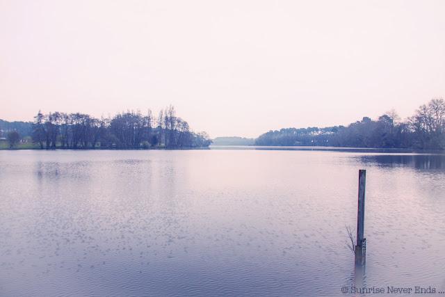 seignosse, étang noir,hossegor
