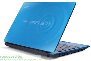 Harga ACER Aspire One 722 Notebook Terbaru 2012