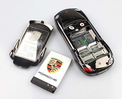 Mobile Phones for children? car-shaped mobile phone porsche black