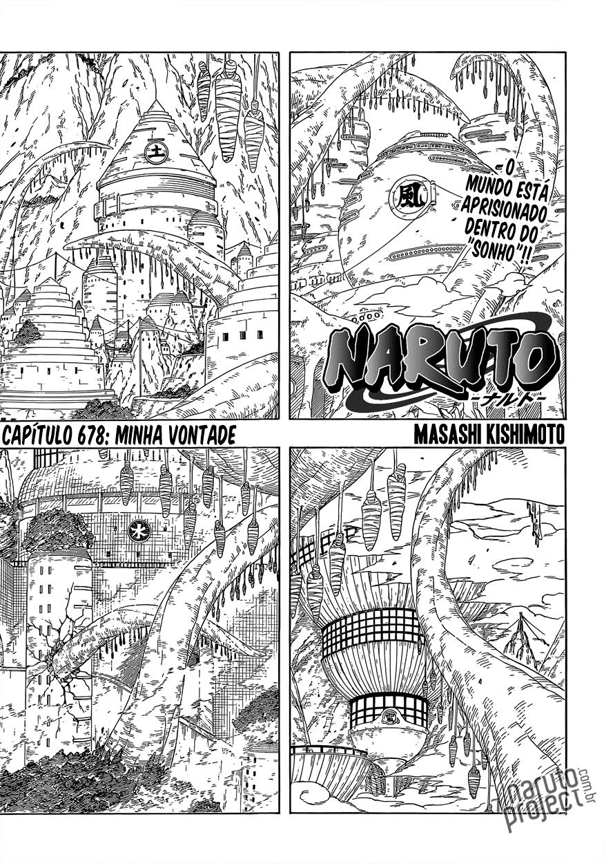 Naruto 678 Português Mangá leitura online