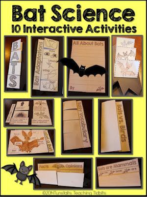https://www.teacherspayteachers.com/Product/Bat-Science-Interactive-Activities-1482271