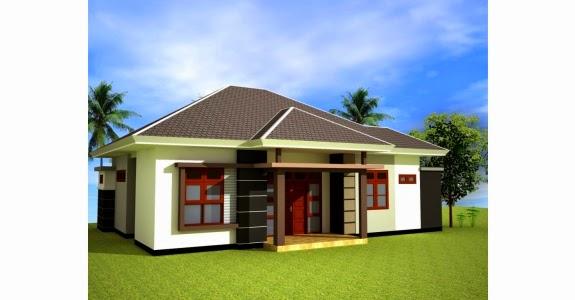 Desain Rumah Minimalis 1 Lantai Type 80