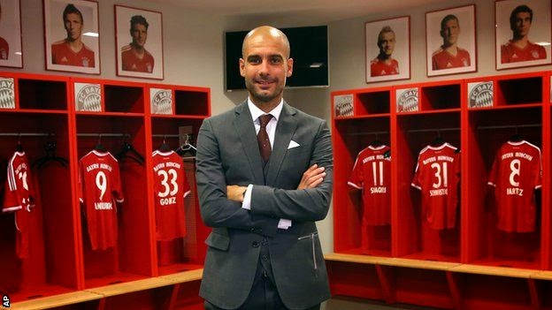 Pep Guardiola en el Bayern Munich
