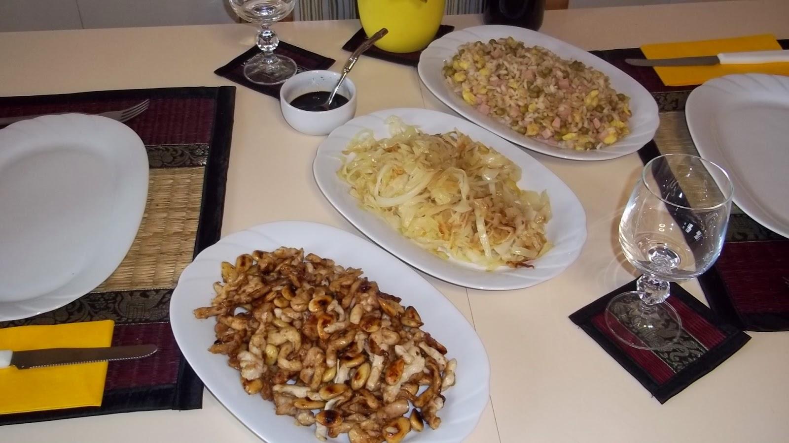 Sapori&saperi: Pranzo Cinese Riso Alla Cantonese E Pollo Alle Mandorle  #B38818 1600 900 I Migliori Libri Della Cucina Italiana