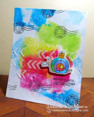 Sending You Snail Mail | Newton's Nook Designs | Created by Danielle Pandeline