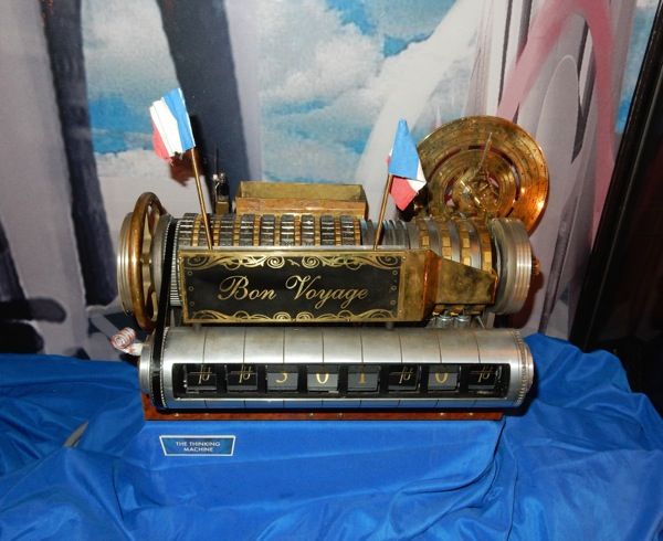 Bon Voyage Thinking Machine Tomorrowland film prop