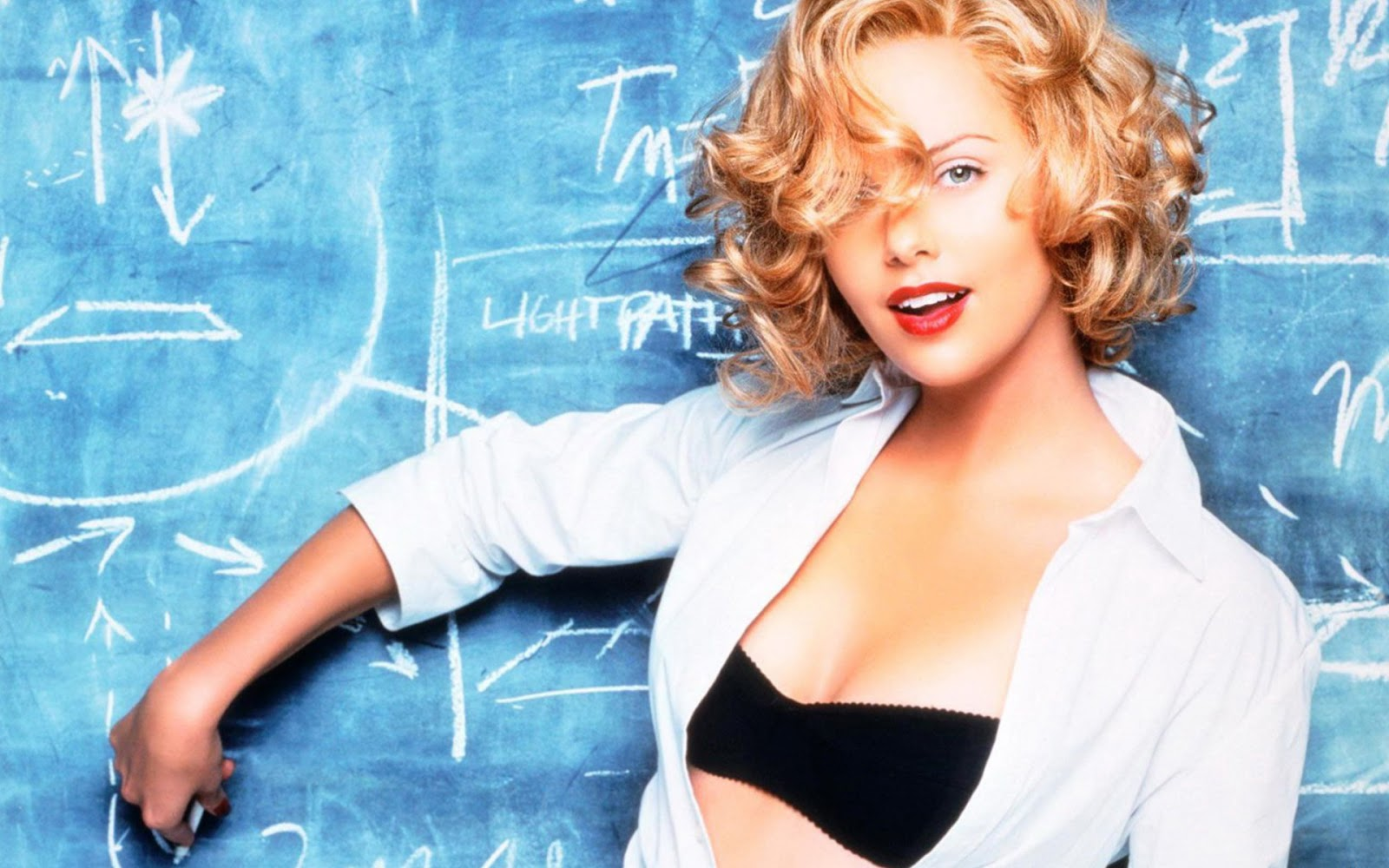 Charlize Theron Hot Teacher