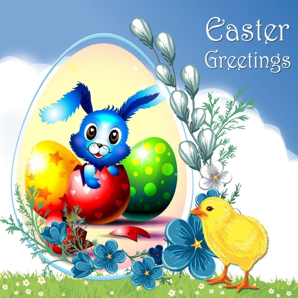 Happy Easter Easter Greetings The Fun Learning