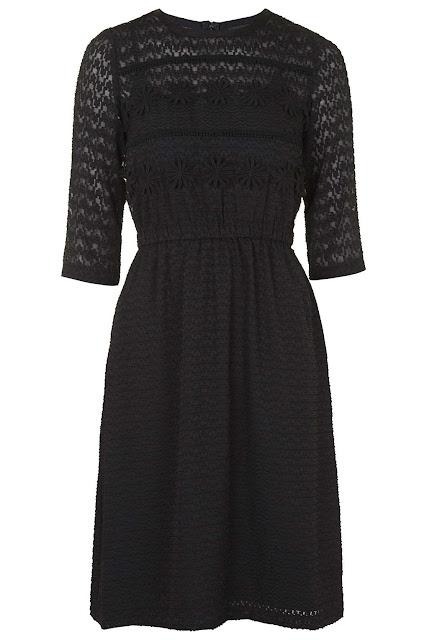 black midi dress topshop, black appliqué dress