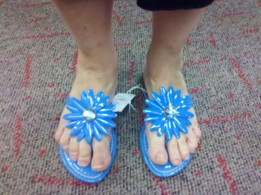 Through the Sole: A shoe blog: Cheap Summer Fun! Miss Trish of Capri ...