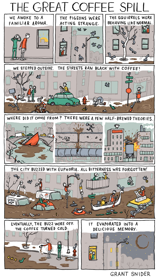 Incidental Comics and The Great Coffee Spill